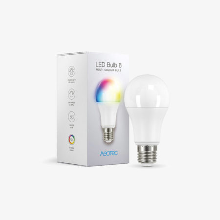 Aeotec LED Bulb Multi-Colour