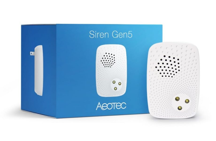Aeotec Indoor Siren